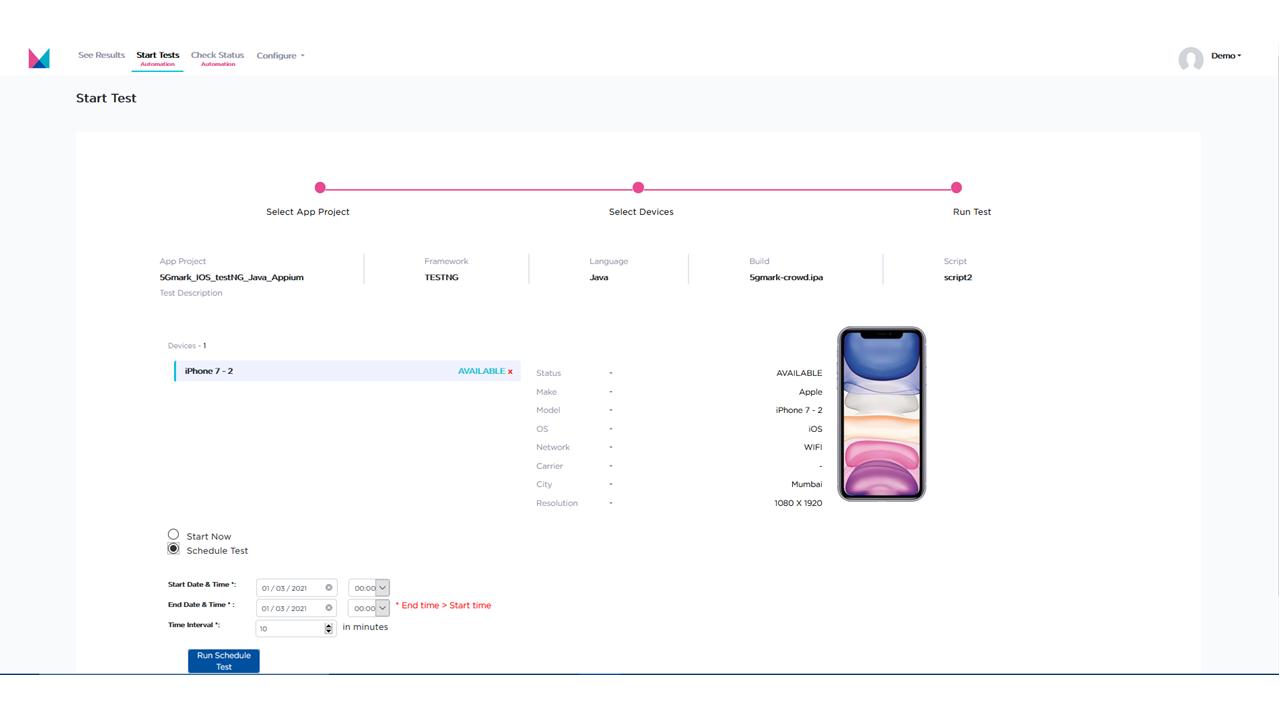 Dashboard - App Functional