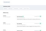 Captura de pantalla de Zinc: Zinc candidate profile
