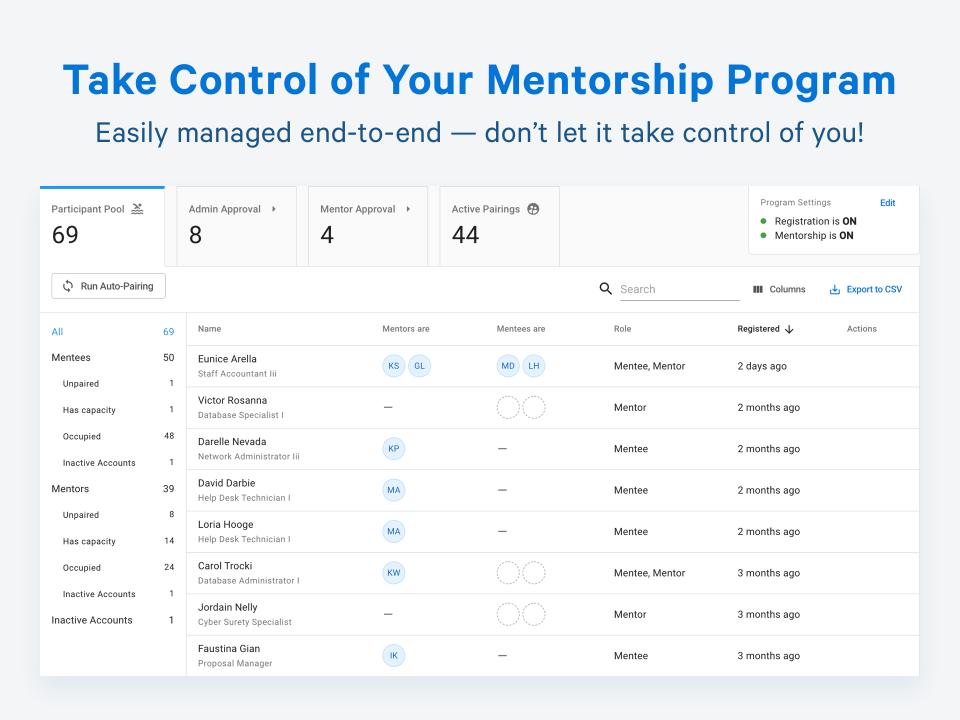 Together Enterprise Mentoring Software - 4