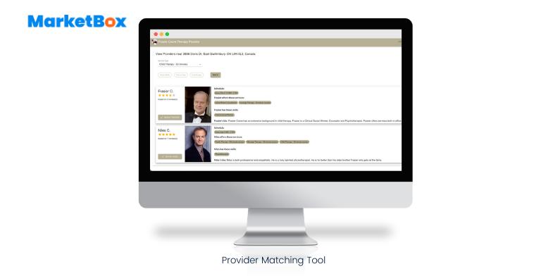 MarketBox Software - Provider Selector