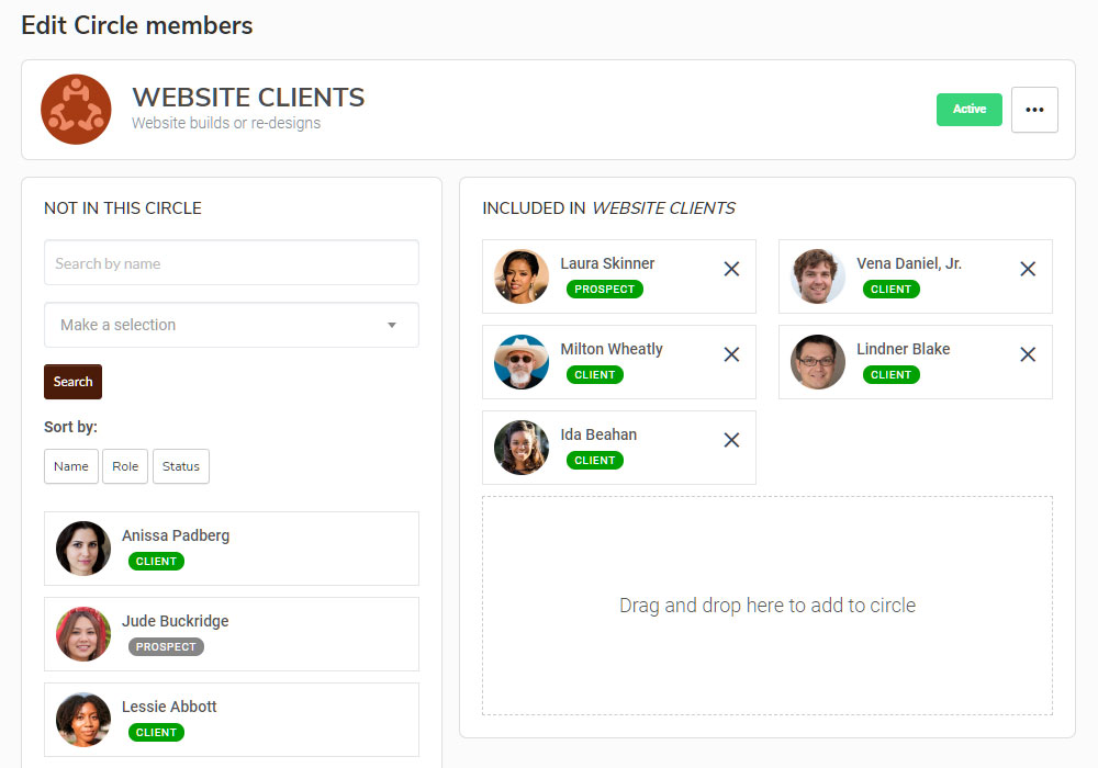SuiteDash client groups