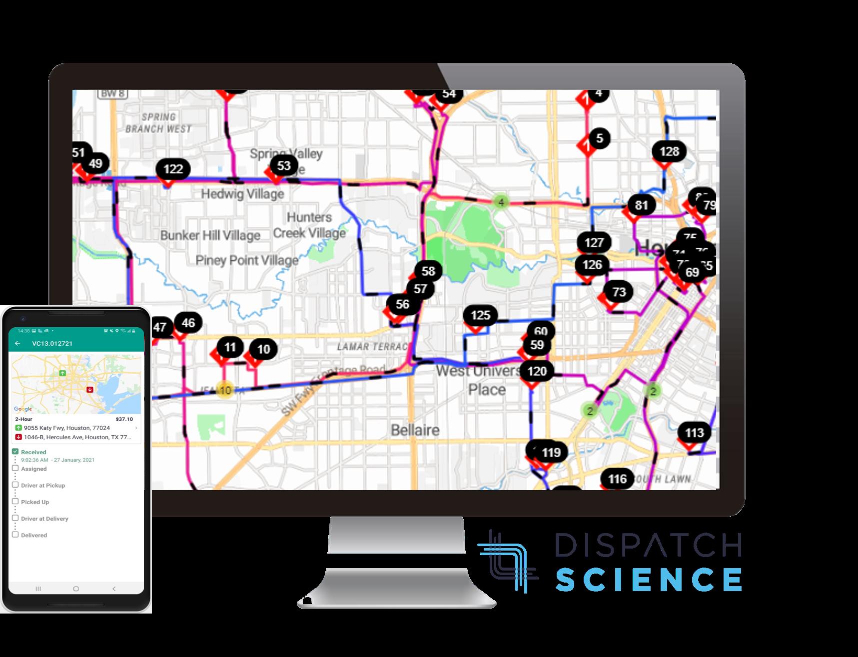 Dispatch Science Logiciel - 3