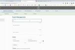 FACTS screenshot: FACTS event management
