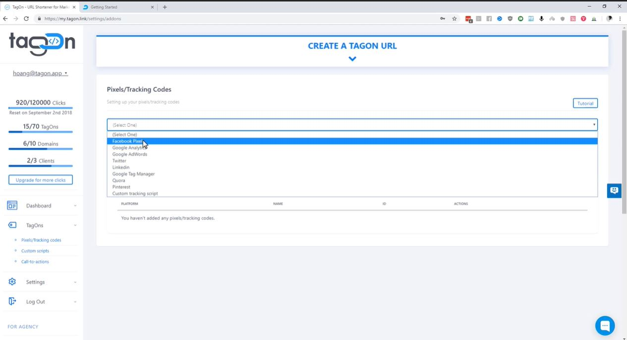 Sharest URL creation
