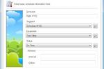 Blue Sky Booking screenshot: Blue Sky Booking schedules screenshot