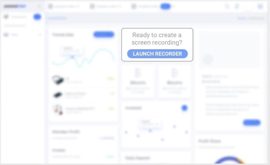 Screencast-O-Matic launch recorder