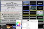 ProPresenter screenshot: ProPresenter reflow text editor screenshot