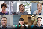 Capture d'écran pour GoToMeeting : Flawless Video Meetings  An all new sleek & intuitive interface that let's you navigate meetings with ease.