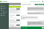 Avochato Screenshot: All messages are displayed in the web dashboard