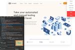 TestingBot screenshot: TestingBot native debugging tools