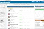 SalesBinder screenshot: SalesBinder inventory list