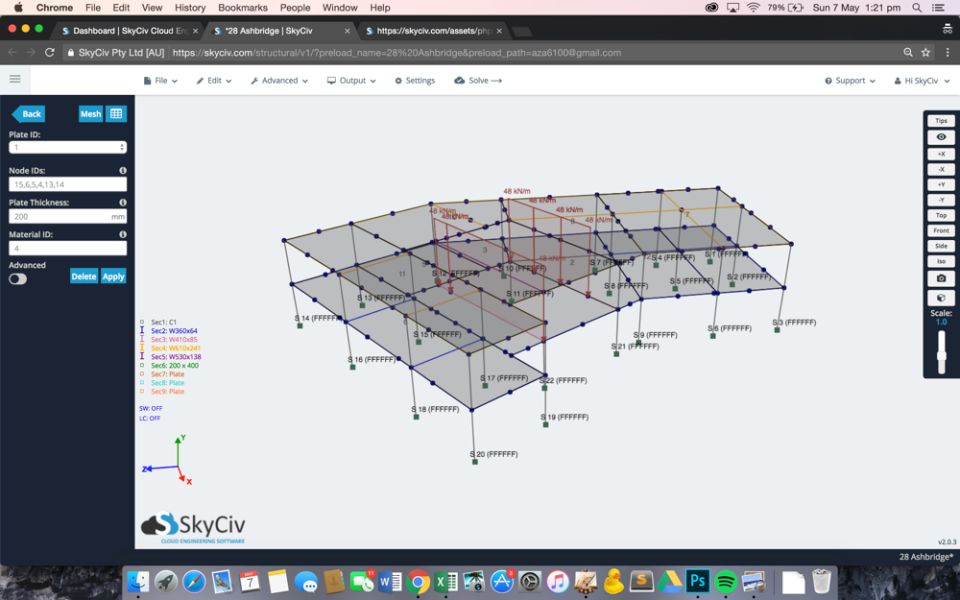 SkyCiv Structural 3D Software - Powerful Analysis