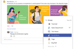 Xoxoday Empuls screenshot: Create groups based on teams, departments, interests, projects etc., for effective communication, celebrations, task management, collaboration and interact with likes, comments, share etc., like any workplace social media application.