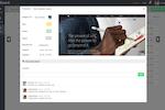 Captura de pantalla de zipBoard: zipBoard task management