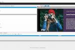 Capture d'écran pour FWi : FWI content management