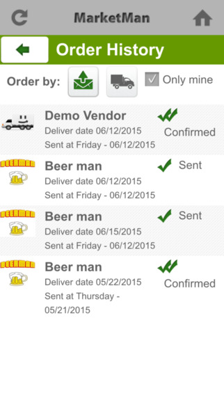 Place orders, check status and manage suppliers anytime and anywhere