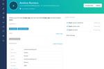Vero screenshot: Customer profiles product complete lifecycle information