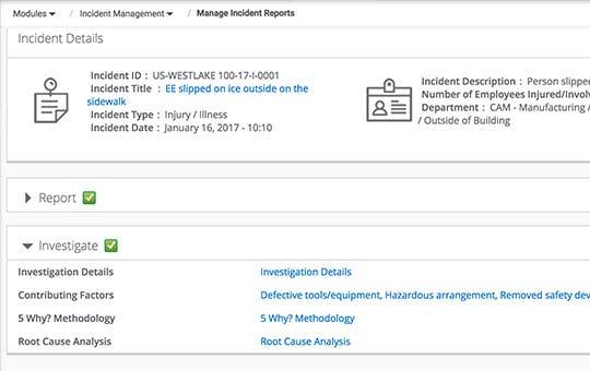 ProcessMAP EHS Platform Software - CAPA