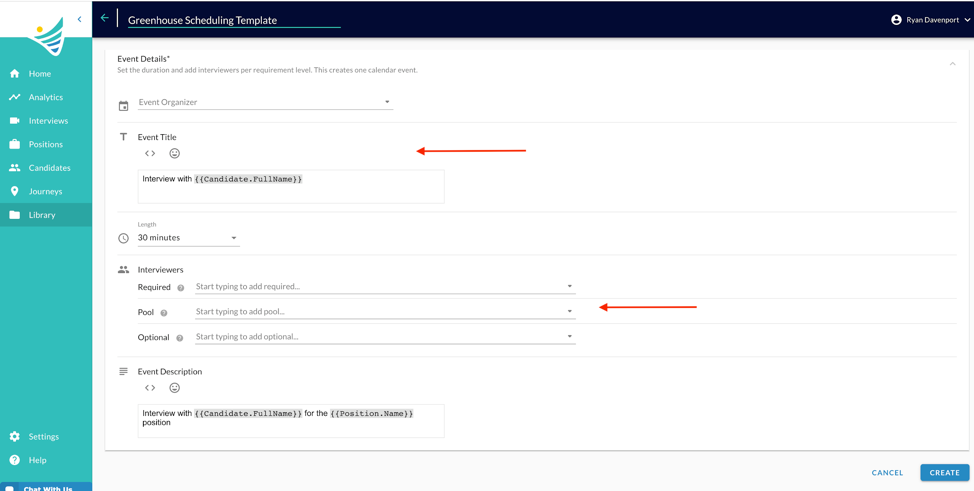 ConveyIQ integration with Greenhouse ATS screenshot