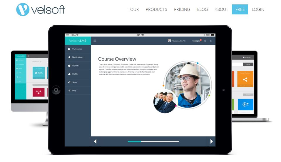 Allow students to access the self-service portal to view their courses for completion and work online