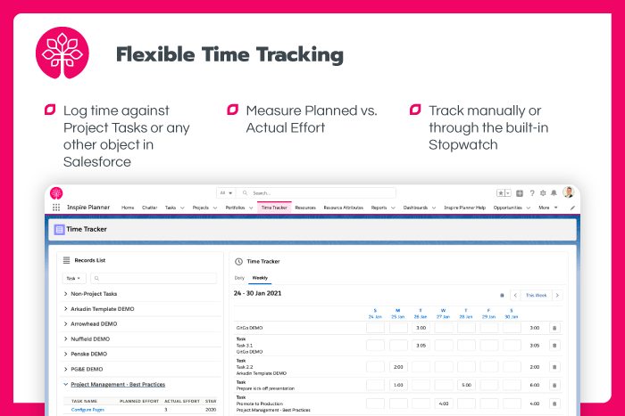 Flexible Time Tracking