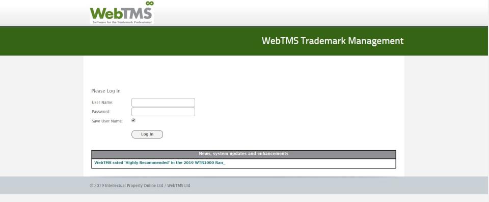 WebTMS Software - 1