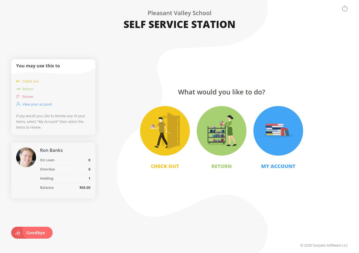 Surpass self-service station