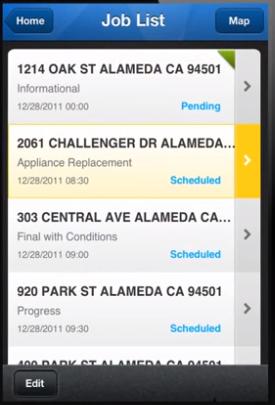 Accela Building pending permissions screenshot