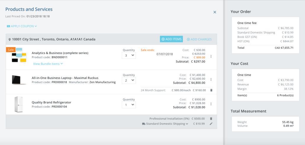 Kloudville Software - Shopping cart %>