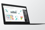 Microsoft Power BI Screenshot: Microsoft Power BI Desktop shown on Thinkpad
