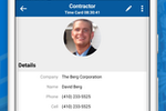 Contractor Foreman screenshot: Manage your contacts all from one place.