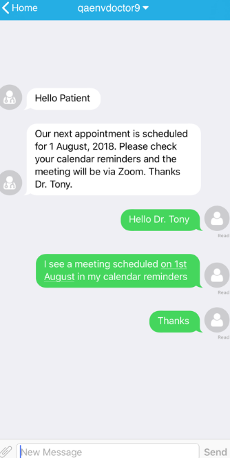 Connected Health chat