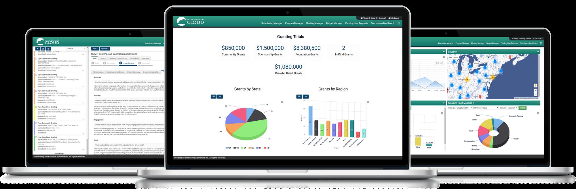 SmartSimple CLOUD for Grants Management Software - Grants management for foundations