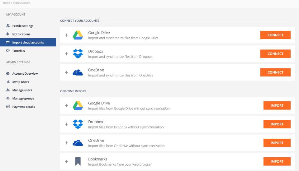 Shelf Software - Shelf - Integrations