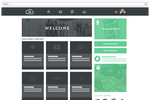 Wisetail LMS screenshot: Users can create their own courses and modules using Wisetail's course authoring tool, giving each course a custom thumbnail image