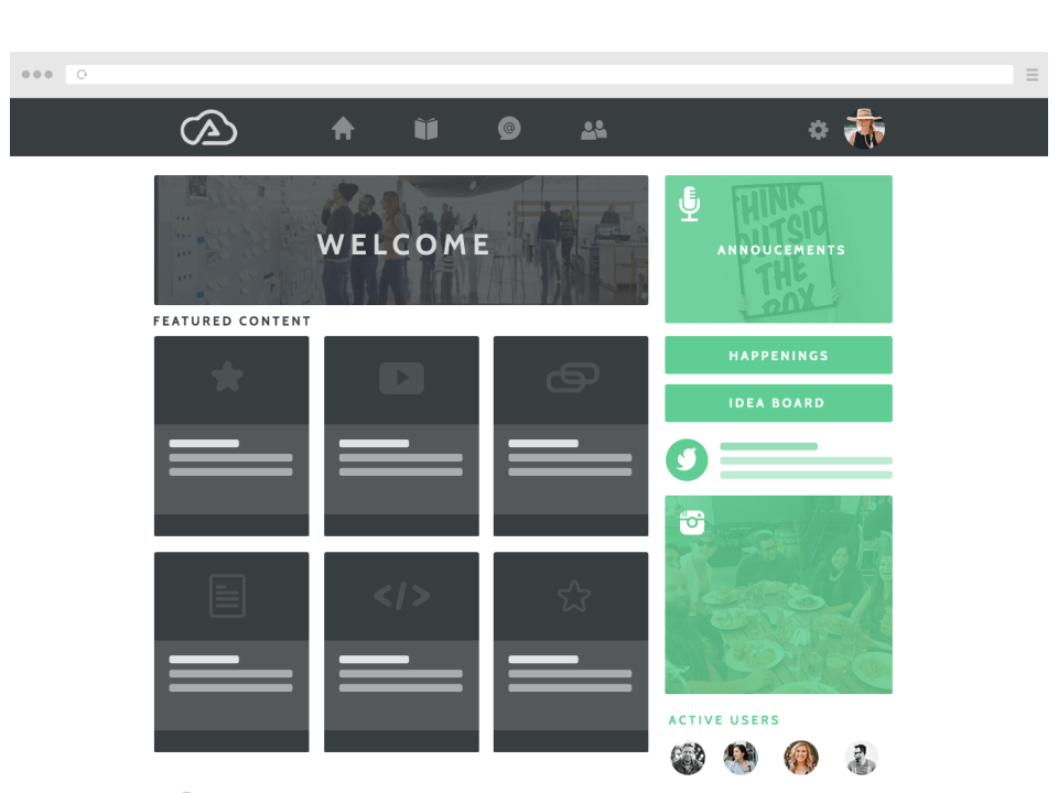 Users can create their own courses and modules using Wisetail's course authoring tool, giving each course a custom thumbnail image