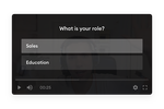 ilos screenshot: Engage your viewers with in-video questions