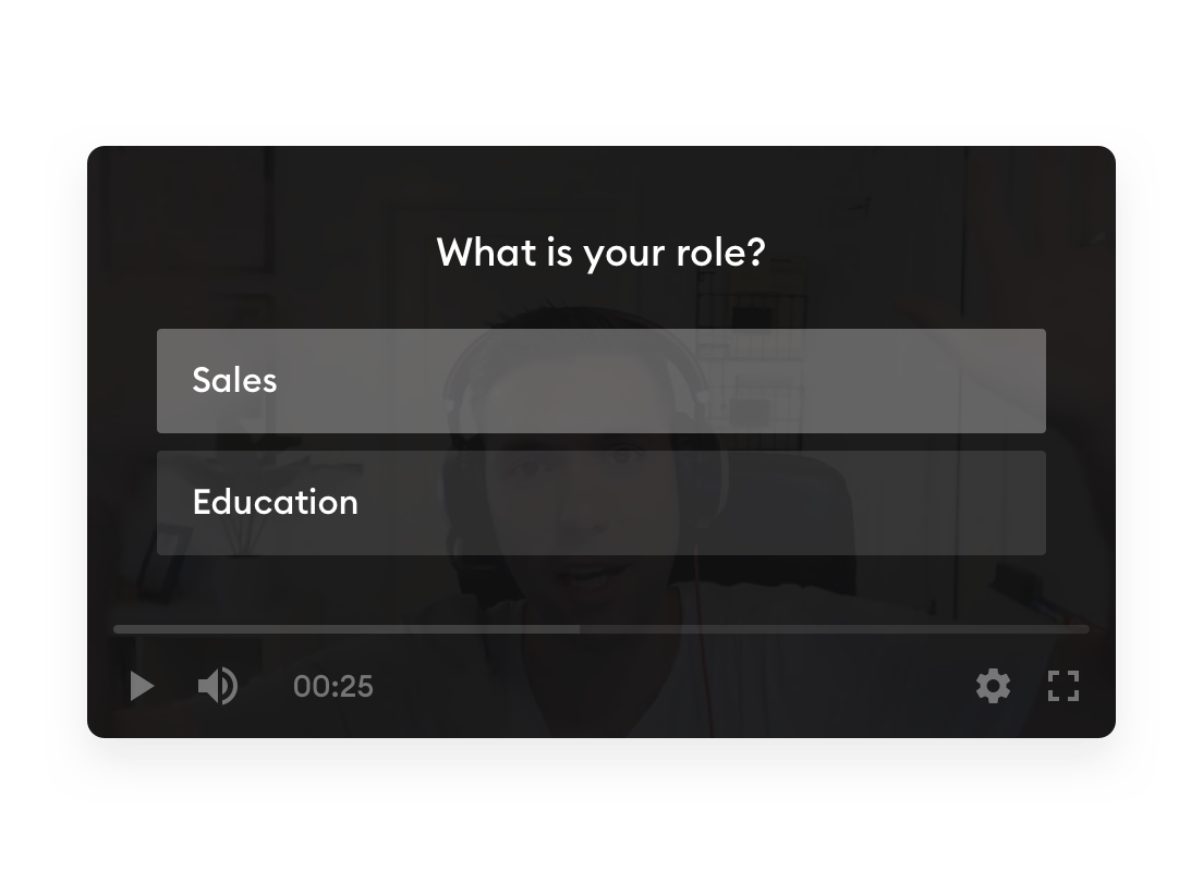 Engage your viewers with in-video questions