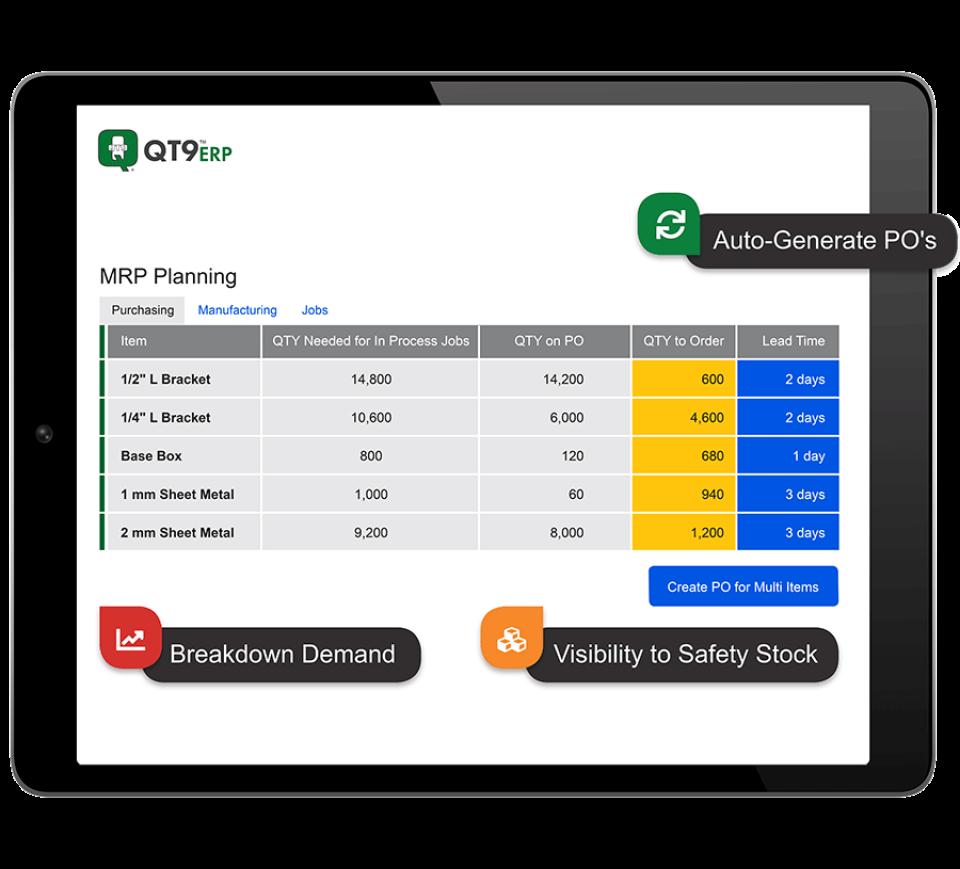 QT9 ERP Software - 1