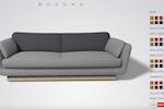 Roomle screenshot: Roomle 3D configuration screenshot