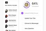 Tribe Screenshot: Incentivize and give credit to community members by giving them points and badges
