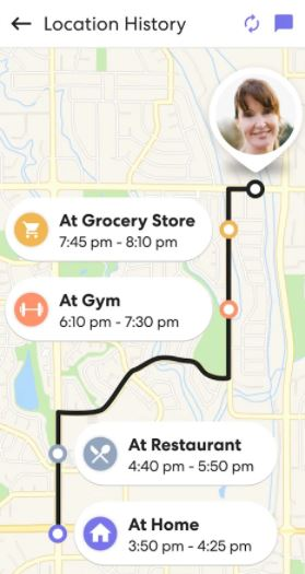 LIfe360 view location history
