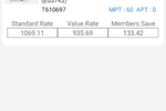 Profit Rhino screenshot: Profit Rhino search OEM parts