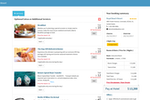 eZee Reservation Screenshot: Up-sell extras at the point of booking