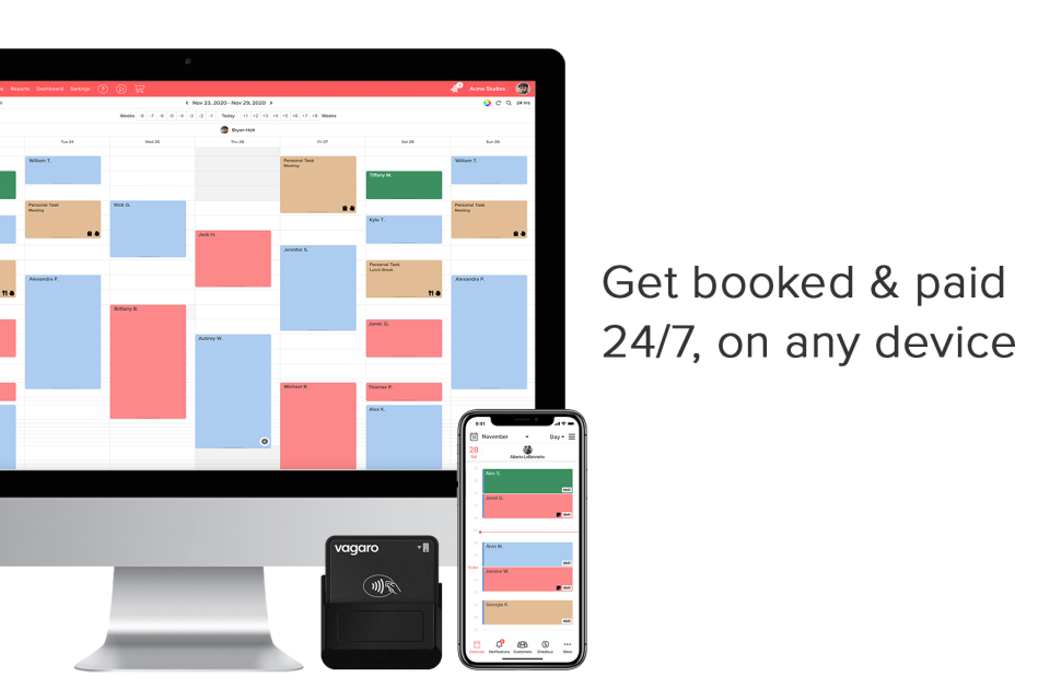 Get Booked & paid