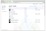 Dropbox Business screenshot: In-app search tool to locate files