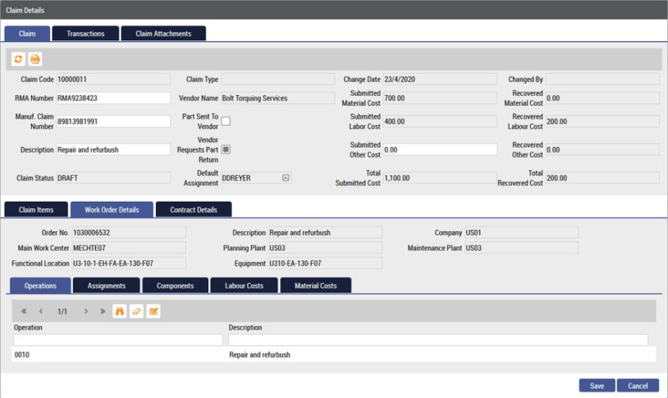 WorkAlign Warranty Tracker Software - 1