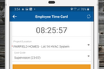 Contractor Foreman screenshot: Our Timecard feature is worth the price along.  With GPS and Geofencing, advanced features have never been so easy to use and so affordable.