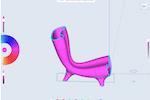 Shapr3D screenshot: Shapr3D adding color to sketches