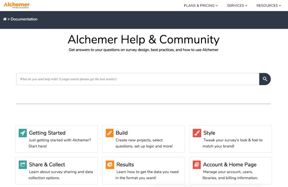 Alchemer Software - 5